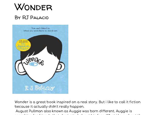 Wonder Rj Palacio Pdf Ita